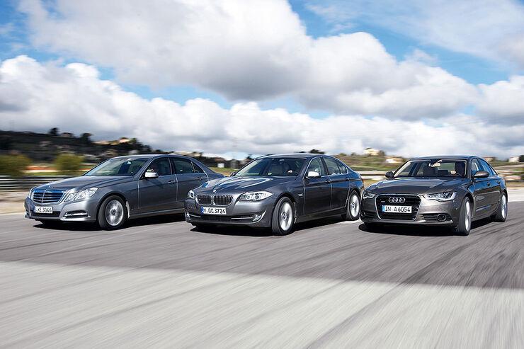03/2011 BMW 530d, Mercedes E 350CDI, Audi A6 3.0 TDI, aumospo 06/2011, Allrad