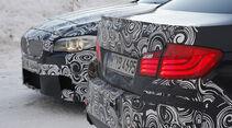 03/2011 BMW M5 Fahrbericht, Wintererprobung, Heck
