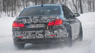 03/2011 BMW M5 Fahrbericht, Wintererprobung