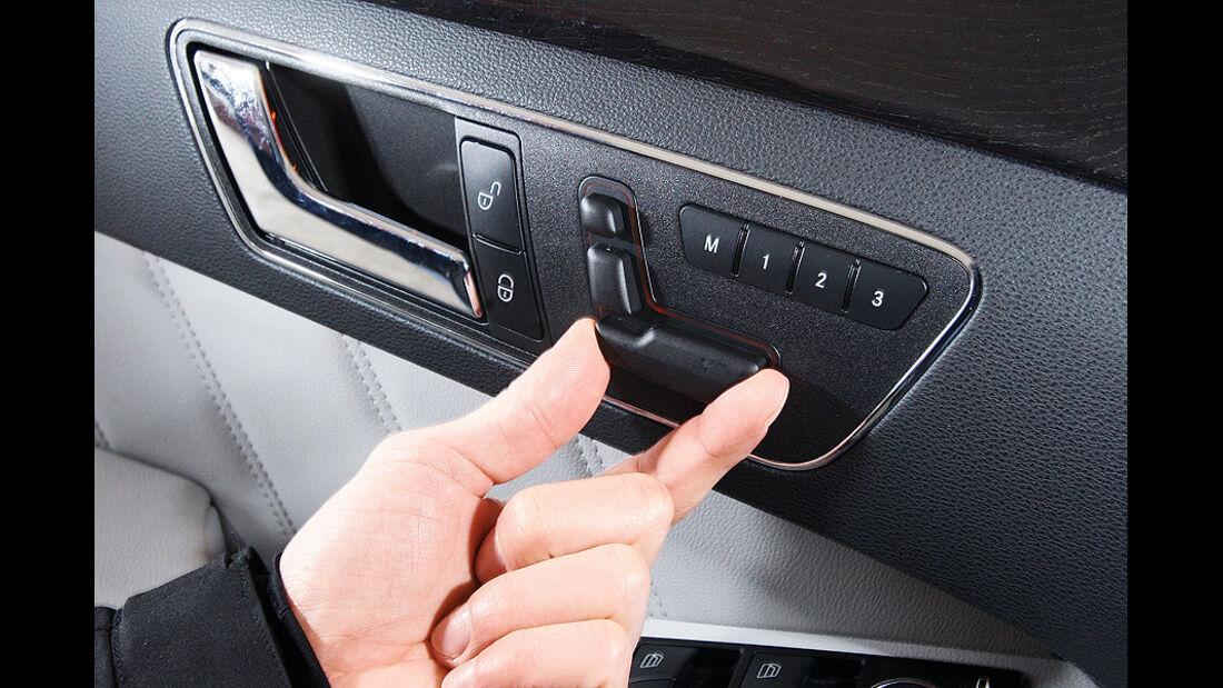 03/2011 Mercedes E 350CDI, aumospo 06/2011, Allrad, Sitzverstellung