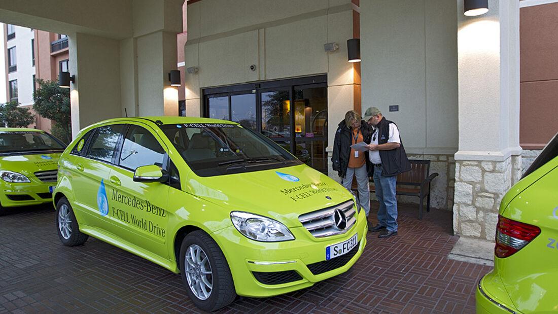 03/2011 Mercedes F-Cell World Drive, 16. Etappe