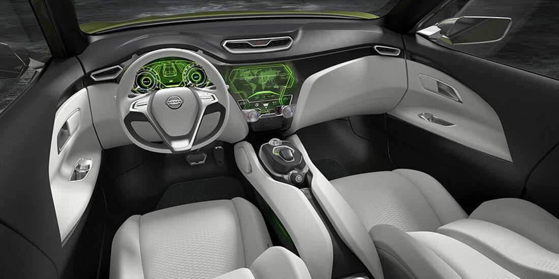 03/2012, Nissan HiCross Concept Genf, Innenraum