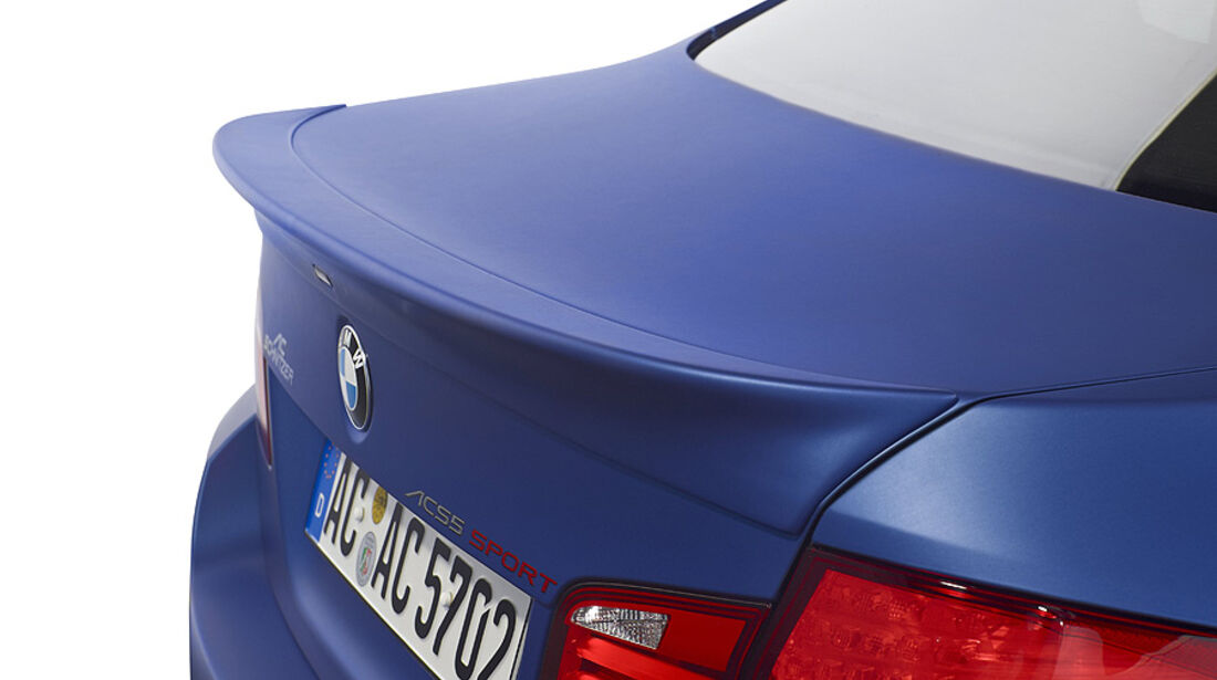 03/2012, Schnitzer BMW 5er M5 ACS 5 Genf, Heckspoiler