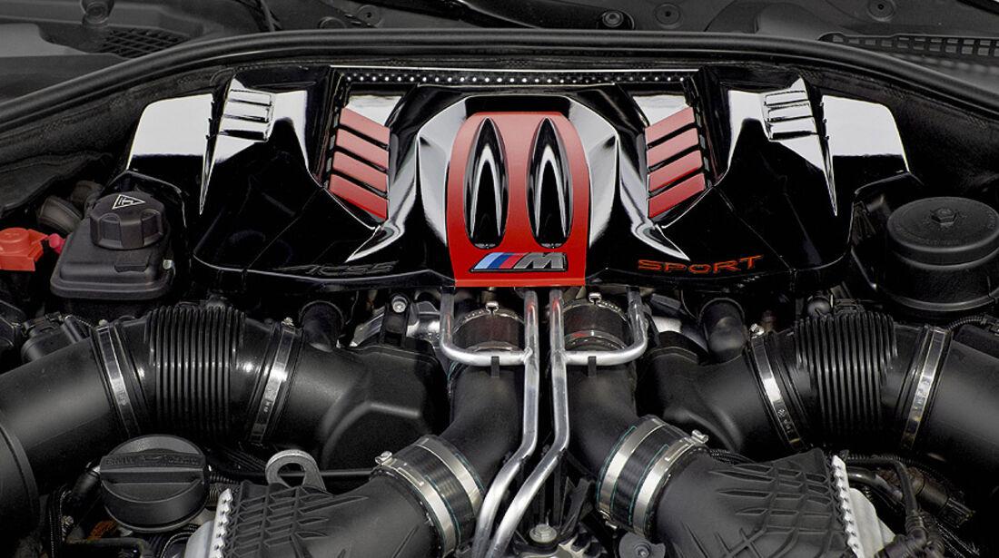03/2012, Schnitzer BMW 5er M5 ACS 5 Genf, Motor