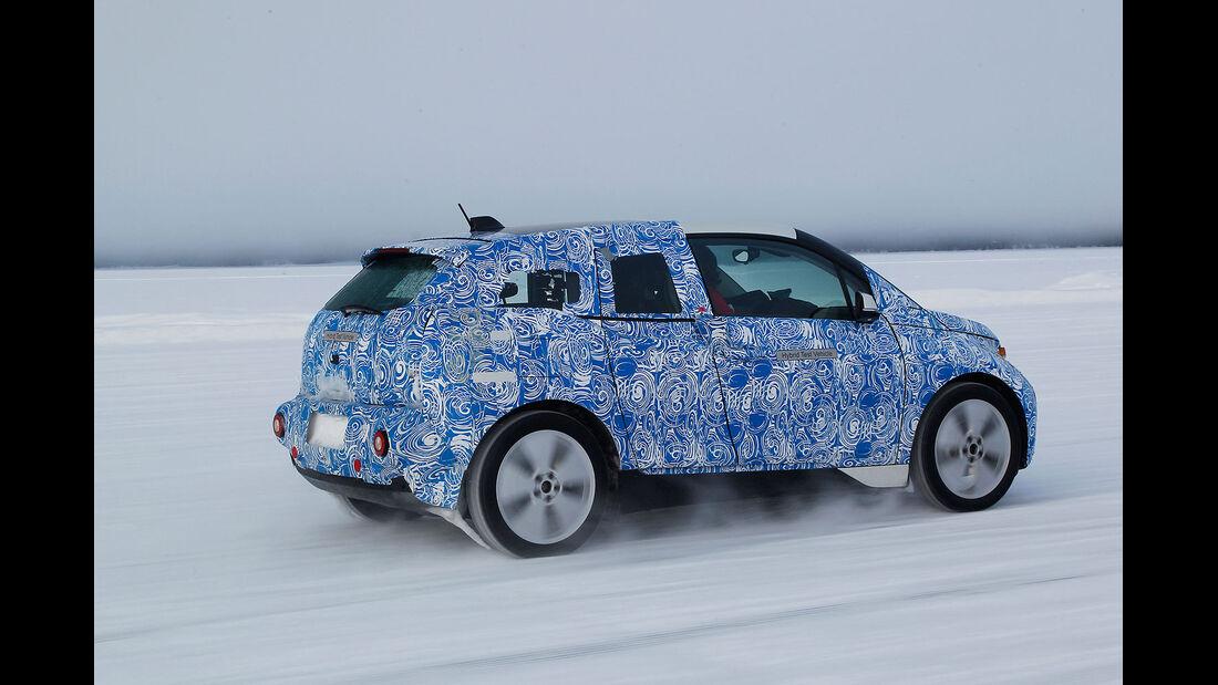 03/2013, BMW i3 und BMW i8 Prototypen Fahrbericht, Schnee Eis