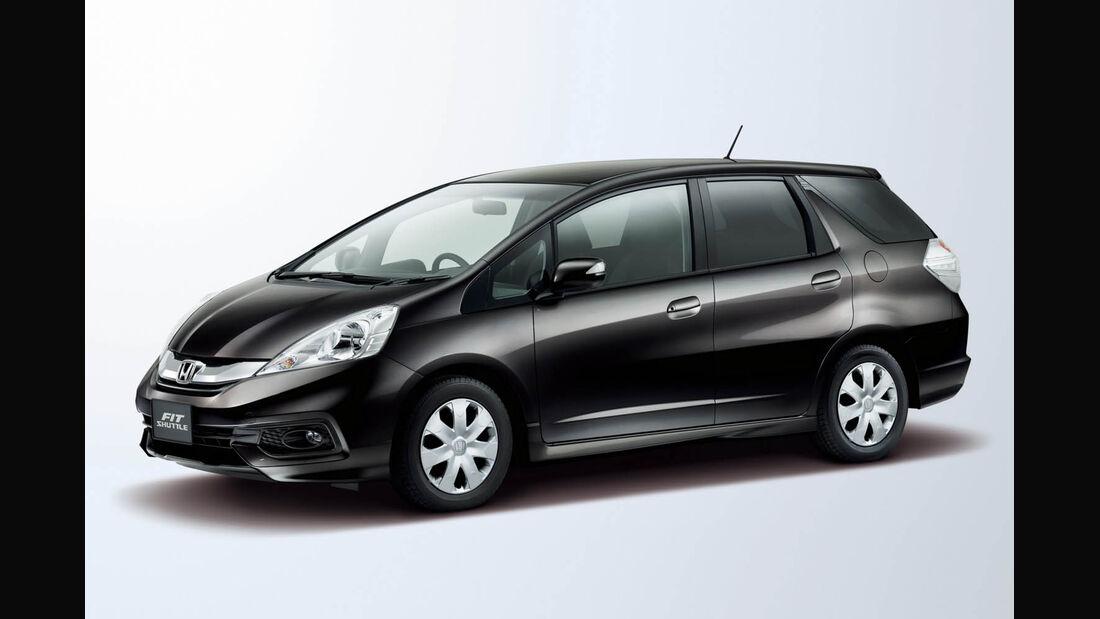 03/2014, Honda Fit Shuttle Japan Japan