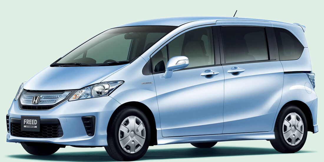 03/2014, Honda Freed Japan