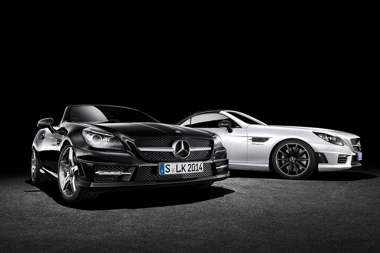 03/2014, Mercedes SLK CarbonLOOK Edition Genf