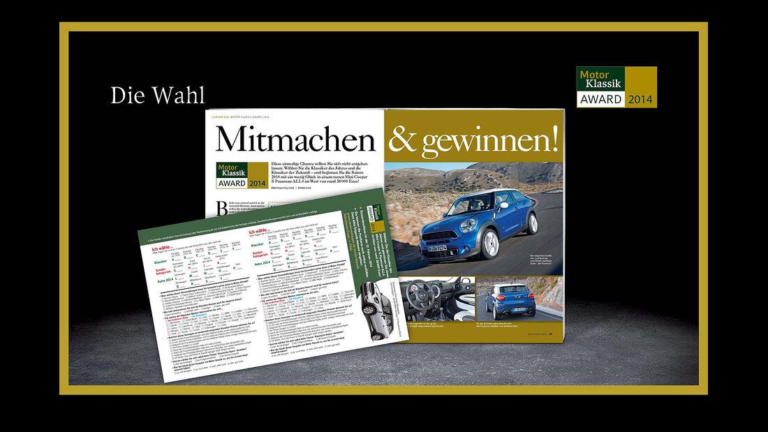 03/2014 -Motor Klassik Award, Klassiker des Jahres