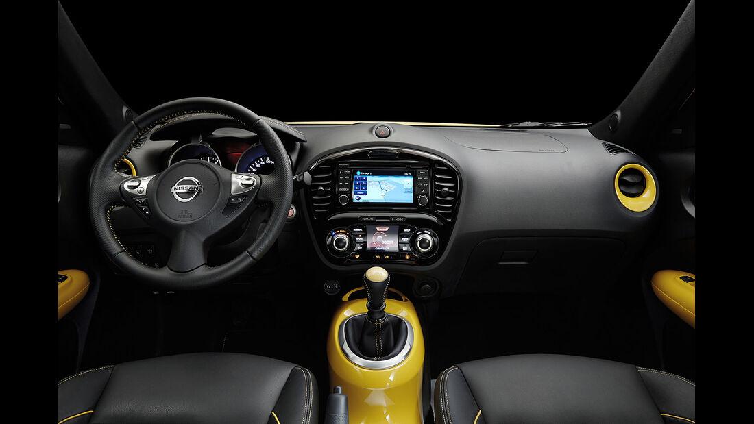 03/2014, Nissan Juke Facelift Genf, Innenraum