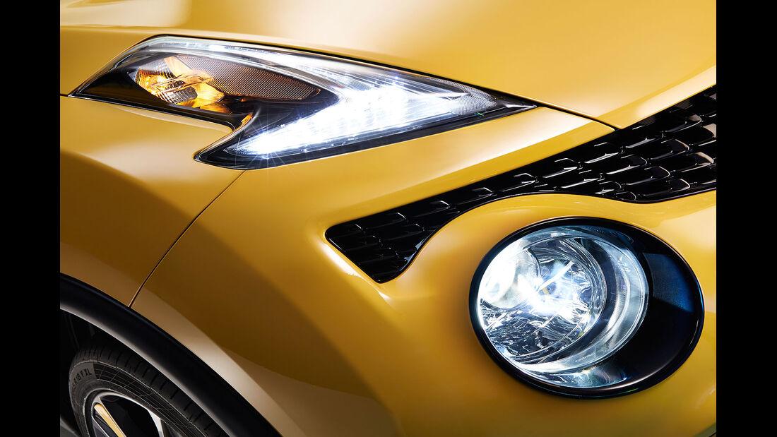 03/2014, Nissan Juke Facelift Genf, Scheinwerfer