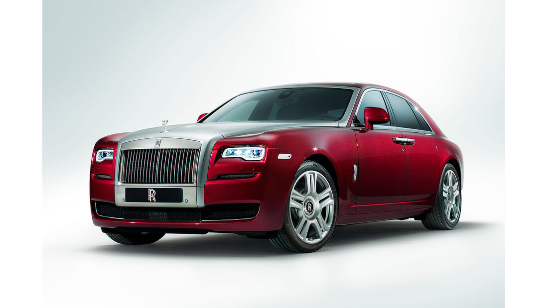 03/2014, Rolls Royce Ghost Facelift Genf