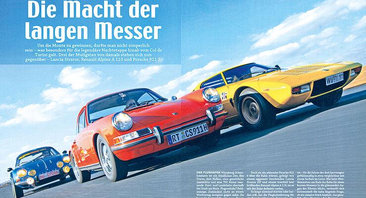 03/2014 - Sonderheft 30 Jahre Motor Klassik, Heftvorschau, Heft 03/2014