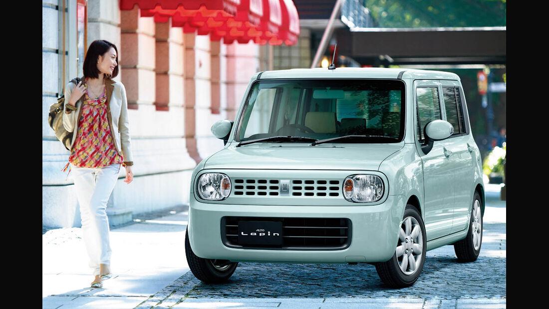 03/2014, Suzuki Alto Lapin Japan
