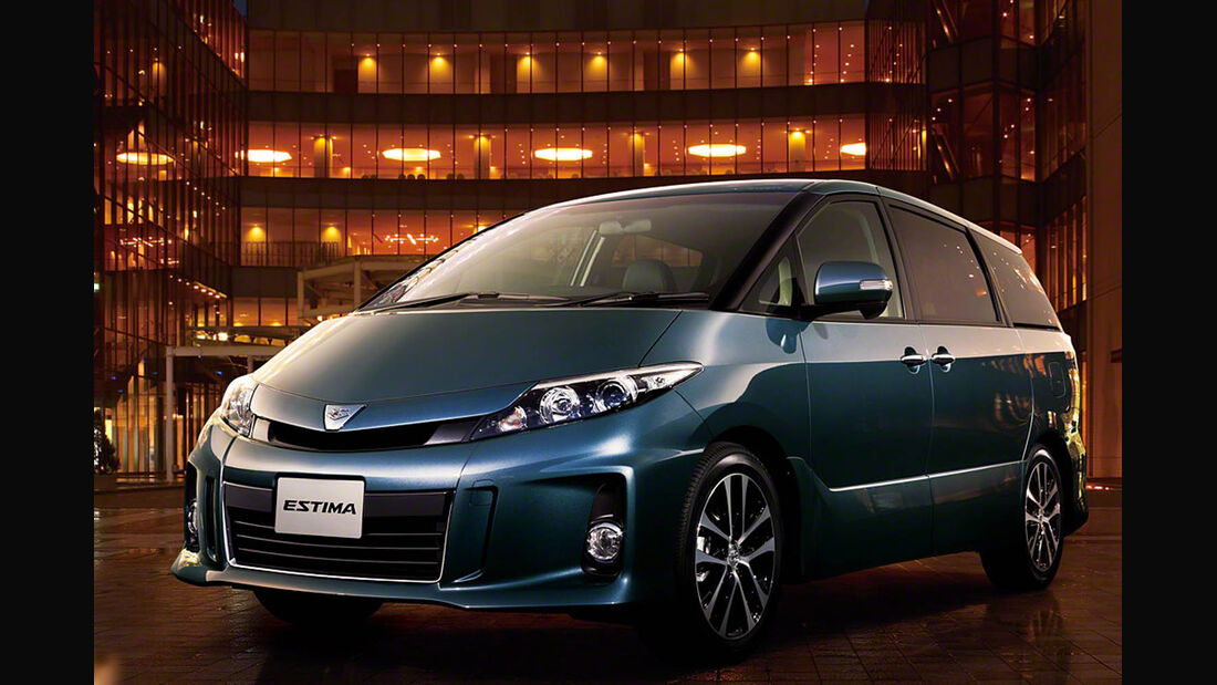 03/2014, Toyota Estima Japan