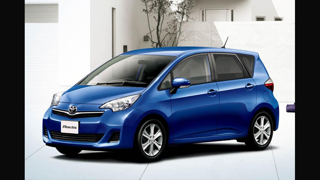 03/2014, Toyota Ractis Japan
