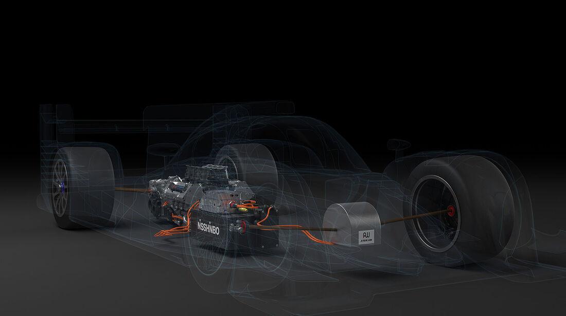 03/2014 Toyota TS040 Hybrid Rennwagen LeMans