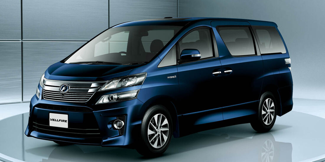 03/2014, Toyota Vellfire Japan