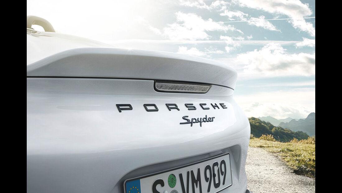 03/2015 Porsche Boxster Spyder