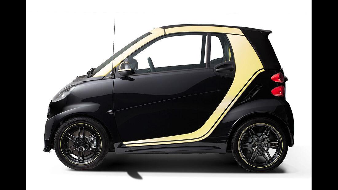 03/2015 Smart Fortwo Cabrio Edition Moscot
