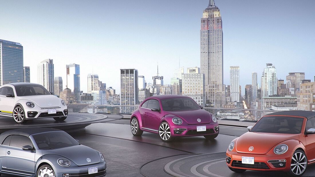 03/2015 VW Beetle Concept Cars New York