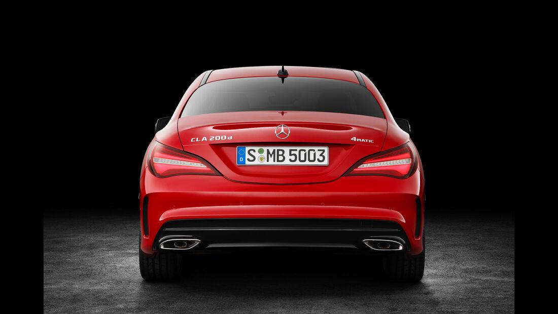 03/2016, Mercedes CLA Facelift Sperrfrist 16.03.2016