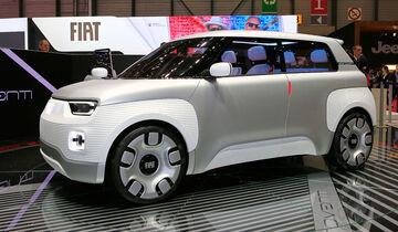 03/2019, Fiat Concept Centoventi auf dem Genfer Autosalon 2019