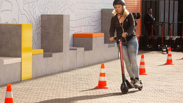 03/2019, Seat eXS powered by Segway
