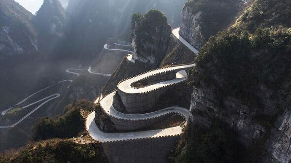03/2019; Tianmen Shan Big Gate Road