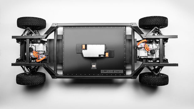 03/2020, Bollinger E-Chassis Skateboard-Plattform