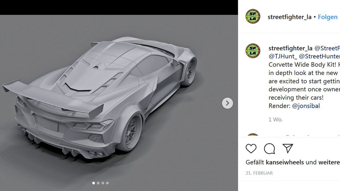 03/2020, Corvette C8 von Streethunter Designs