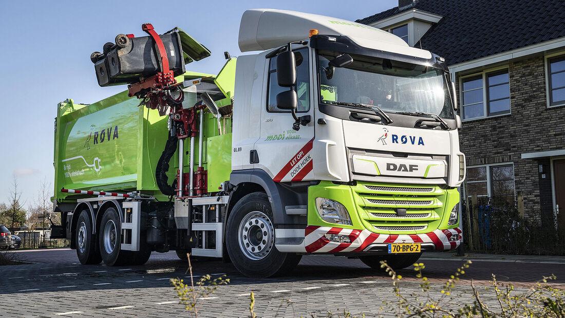 03/2020, DAF CF Electric Müllwagen