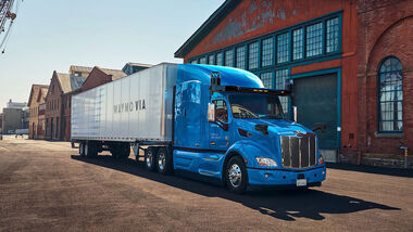 03/2020, Peterbilt von Waymo Via