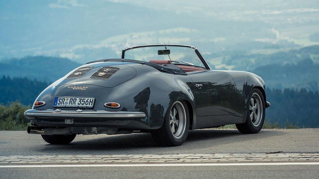 03/2020, Porsche 356 mit 911 Turbo-Motor von Walter Röhrl