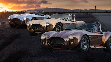 03/2021, 1965 Shelby 427 S/C Cobras Metall-Trio