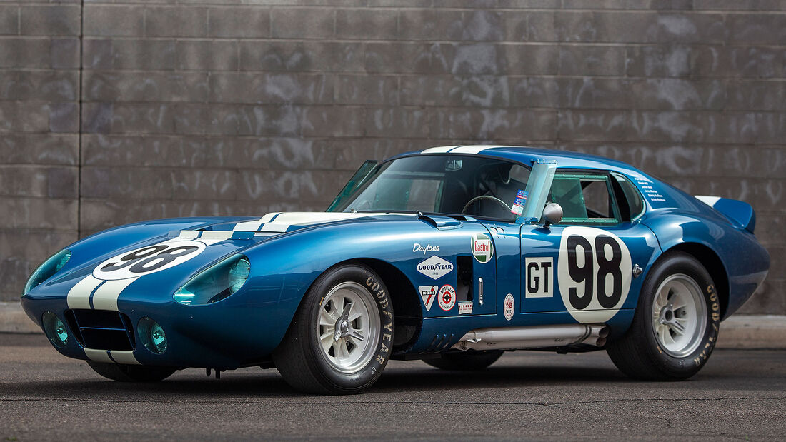03/2021, 1965 Shelby Cobra Daytona Coupe at Auburn Auction