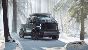 03/2021, Canoo Pickup Truck
