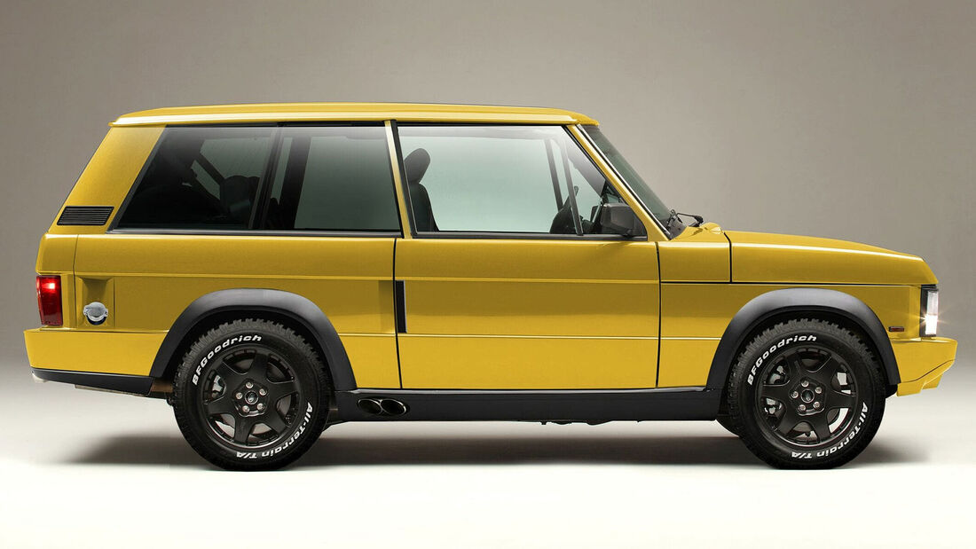 03/2021, Chieftain Extreme auf Basis Range Rover Classic