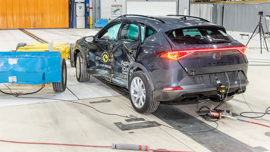 03/2021, Cupra Formentor EuroNCAP Crashtest 2021