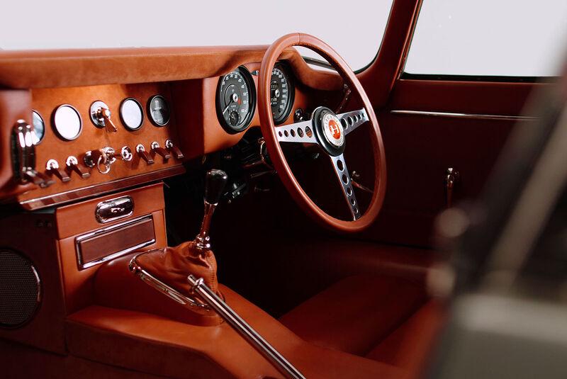 03/2021, Jaguar E-Type Restomod von HELM Motorcars