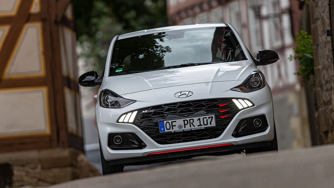 03/2021, Kosten und Realverbrauch Hyundai i10 1.0 T-GDI N Line