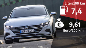 03/2021, Kosten und Realverbrauch VW Arteon Shooting Brake 2.0 TDI 4Motion