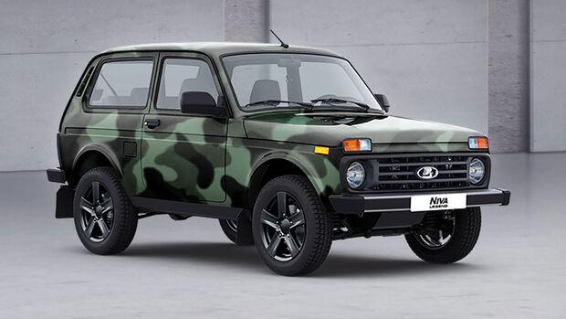 03/2021, Lada Niva Legend Camouflage Flecktarn