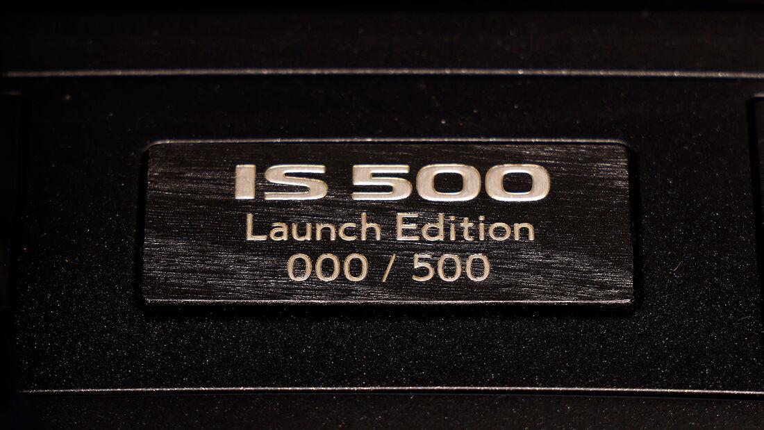 03/2021, Lexus IS 500 F Sport Performance Launch Edition