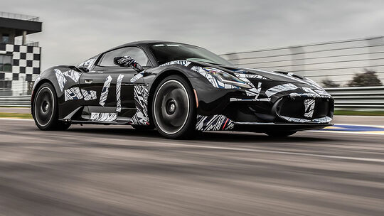 03/2021, Maserati MC20 Erlkönig Rennstrecke