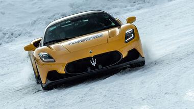 03/2021, Maserati MC20 Schnee Wintertest