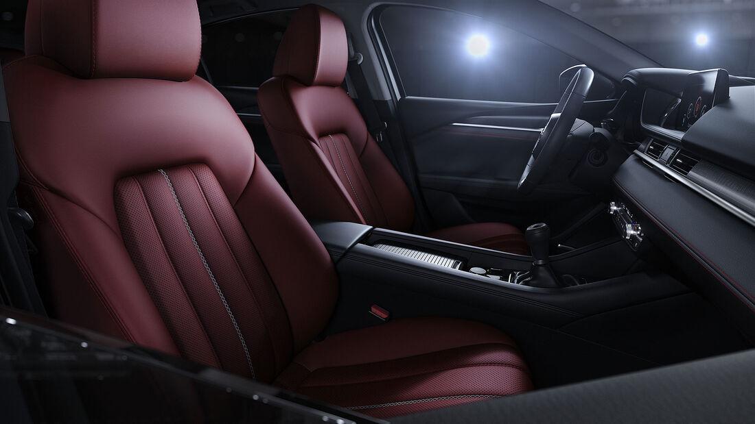 03/2021, Mazda 6 Modelljahr 2021 Homura Sondermodell