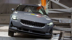 03/2021, Polestar 2 EuroNCAP Crashtest 2021