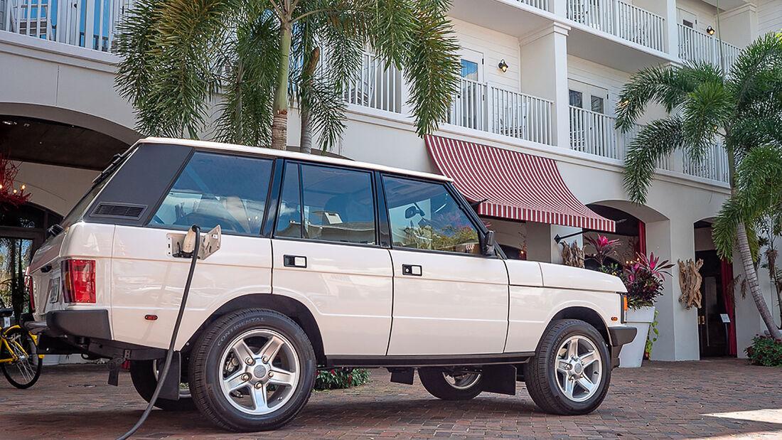 03/2021, Range Rover Classic mit Elektroantrieb von E.C.D.