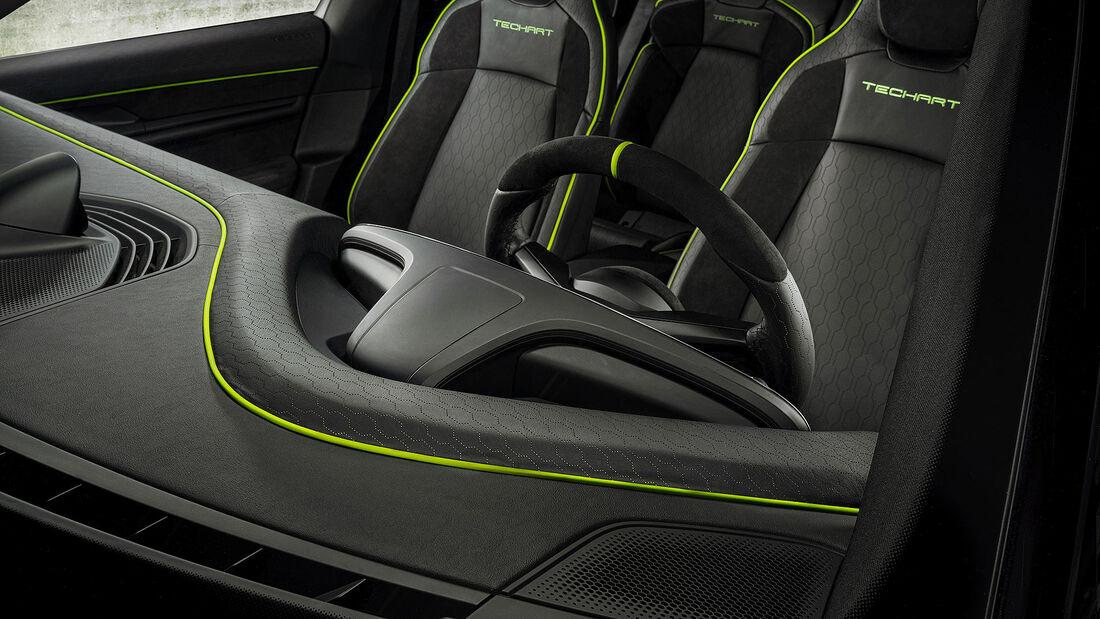 03/2021, Techart Porsche Taycan Interieur Innenraum